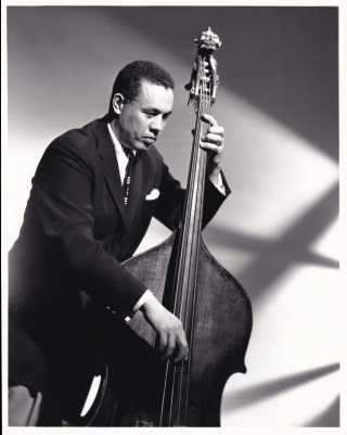 Original photo of Charles Mingus, circa 1946. Charles Mingus, subject