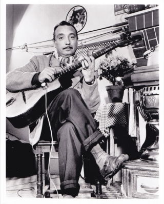 Original photo of Django Reinhardt, circa 1940. Django Reinhardt, subject