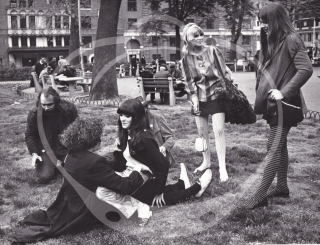 Archive of photographs of the New York Counterculture scene, 1967