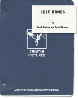 Idle Hands (Original screenplay for the 1999 film). Rodman Flender, Ron Milbauer Terri Hughs,...