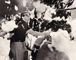 The Party (Original photograph from the set of the 1968 film). Blake Edwards, Frank Waldman Tom...