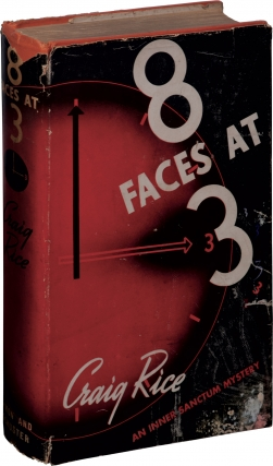 8 Faces At 3 (First Edition). Craig Rice