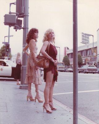 Taxi Girls (Original photograph from the 1979 film). John Jourdan Alexander Holmes, Bob Oakwood,...