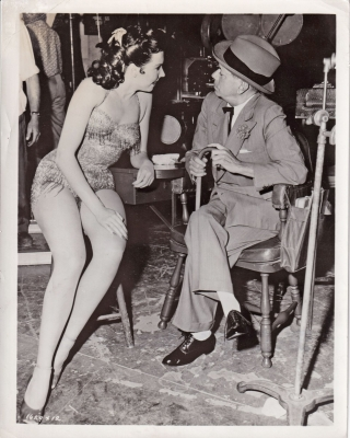 Kiss Me Kate (Original photograph of Cole Porter and Ann Miller on the set of the 1953 film)....