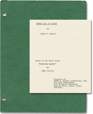 Some Call It Loving [Never Call It Loving] (Original screenplay for the 1973 film). James B....