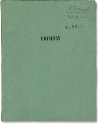 Fathom (Original screenplay for the 1967 film). Raquel Welch, Anthony Franciosa, Leslie H....