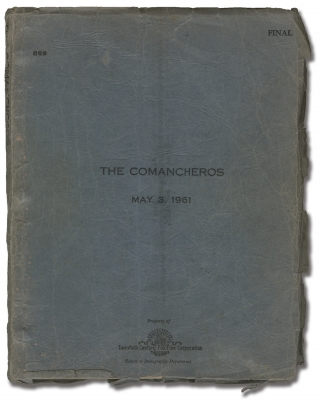 The Comancheros (Original screenplay for the 1961 film). Michael Curtiz, Clair Huffaker James...
