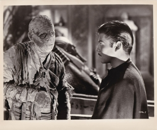 The Mummy's Tomb (Two original photographs from the 1942 film). Lon Chaney, Jr., Harold Young,...