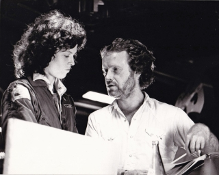 Alien (Original photograph from the set of the 1979 film). Ridley Scott, Dan O'Bannon, Tom...