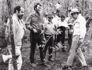 The Beguiled (Original photograph of Clint Eastwood and Don Siegel on the set of the 1971 film)....