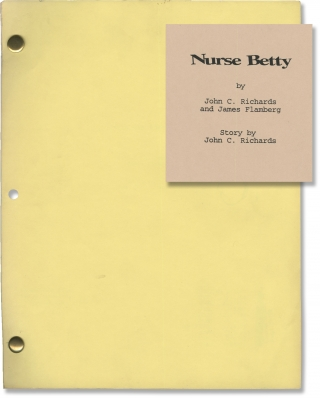 Nurse Betty (Original screenplay for the 2000 film, rainbow copy with storyboards). Neil LaBute,...