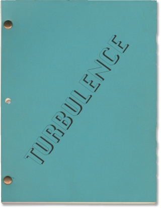 Turbulence (Original screenplay for the 1997 film). Robert Butler, Jonathan Brett, Lauren Holly...