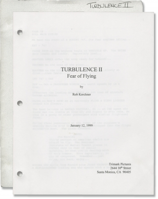 Turbulence 2: Fear of Flying [Turbulence II: Fear of Flying] (Original screenplay for the 1999...