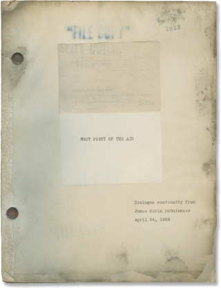 West Point of the Air (Original screenplay for the 1935 film). Richard Rosson, Arthur J. Beckhard...