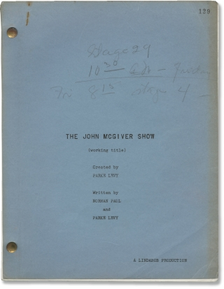 Many Happy Returns [The John McGiver Show]: Many Happy Returns (Original screenplay for the pilot...