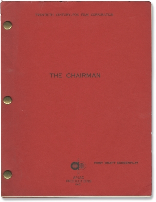 The Chairman (Original screenplay for the 1969 film). J. Lee Thompson, Ben Maddow, Jay Richard...
