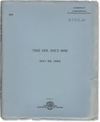 Take Her, She's Mine (Original screenplay for the 1963 film). Henry Koster, Nunnally Johnson,...
