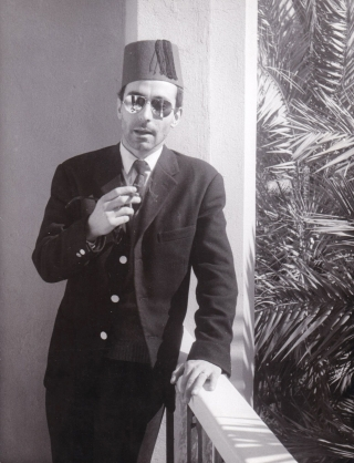 The World's Most Beautiful Swindlers (Original photograph of Jean-Luc Godard from the set of the...
