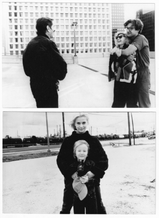 Paris, Texas (Two original photographs from the set of the 1984 film). Wim Wenders, L. M. Kit...