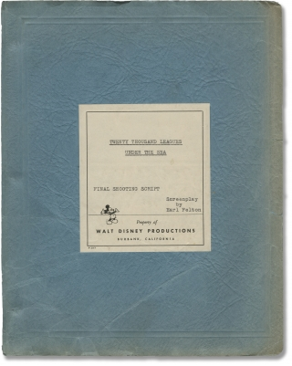 20,000 Leagues Under the Sea (Original screenplay for the 1954 film). Richard Fleischer, Jules...