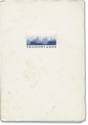 Shadowlands (Original screenplay for the 1993 film, working copy). Richard Attenborough, William...
