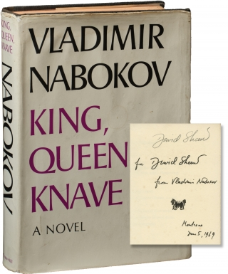 King, Queen, Knave (First Edition, inscribed by Nabokov to screenwriter David Shaw). Vladimir...