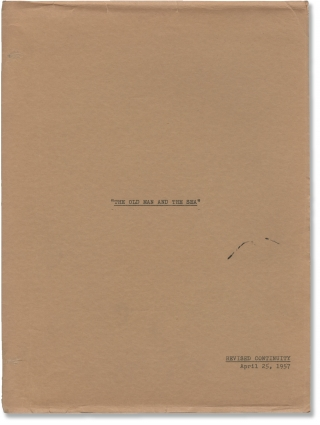 The Old Man and the Sea (Original screenplay for the 1958 film). John Sturges, Ernest Hemingway,...