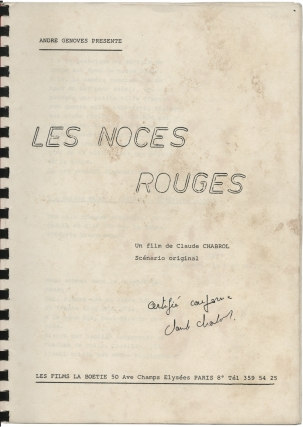 Les noces rouges [Wedding in Blood]