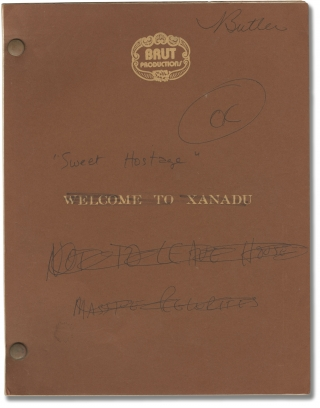 Sweet Hostage [Welcome to Xanadu] (Original screenplay for the 1975 television film). Lee...