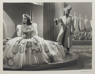 The Chocolate Soldier (Two original photographs from the 1941 film). Roy Del Ruth, Ferenc Molnar,...