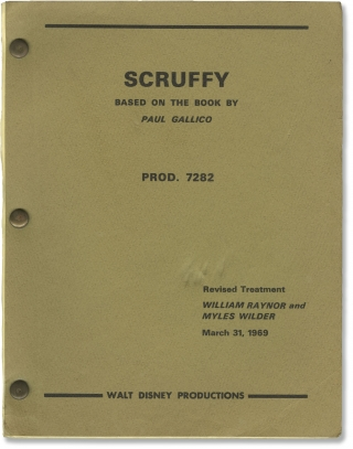 Scruffy (Original screenplay for an unproduced film). Paul Gallico, Myles Wilder William Raynor,...