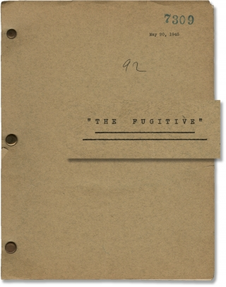 Pursuit to Algiers [The Fugitive] (Original screenplay for the 1945 film). Roy William Neill,...