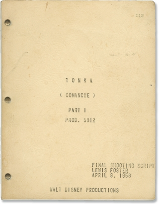 Tonka (Original screenplay for the 1958 film). Lewis R. Foster, David Appel, Lillie Hayward,...