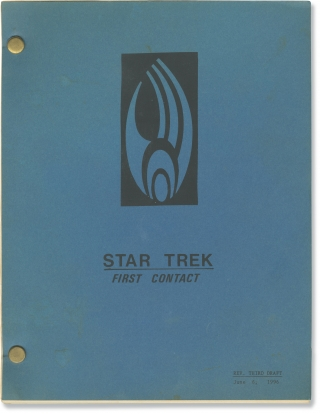 Star Trek: First Contact (Original screenplay for the 1996 film). Gene Jonathan Frakes...