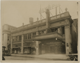 Original photograph of the Olympia Theatre in New Haven, CT, circa 1925. Olympia Theatre, Vincent...