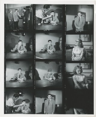 Dragnet (Collection of 35 original contacts sheets with approximately 410 images from the...