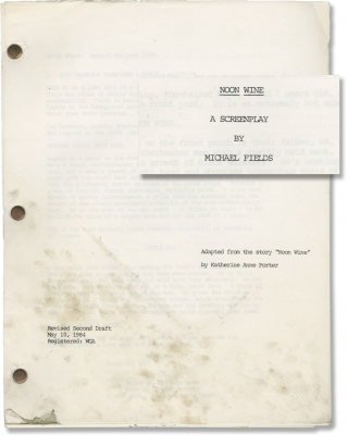 American Playhouse: Noon Wine (Original screenplay for the 1985 television episode). Katherine...