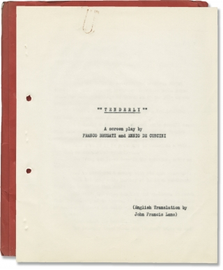 The Girl Who Couldn't Say No [Tenderly] (Original screenplay for the 1968 film). Franco Brusati,...