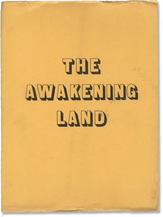 The Awakening Land (Original screenplay for the 1978 television series). Conrad Richter, Hal...