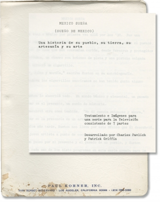 Mexico Suena [Mexico Dreams] (Original treatment script for an unproduced television series)....