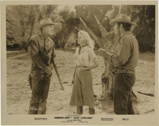Ride Lonesome (Collection of 13 original photographs from the 1959 film). Budd Boetticher, Burt...