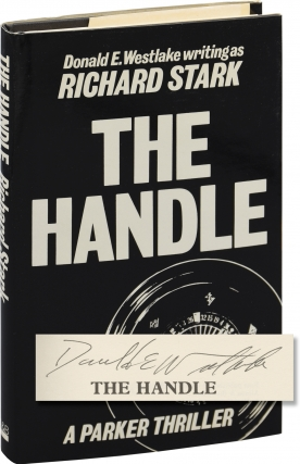 The Handle (First UK edition, signed by the author). Donald E. Westlake, Richard Stark
