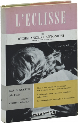 L'Eclisse (First Edition). Michelangelo Antonioni, John Francis Lane, director