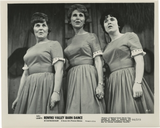 John Lair's Renfro Valley Barn Dance (Collection of 14 original photographs from the 1966 film)....