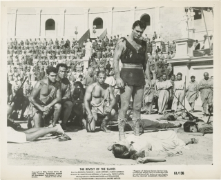 The Revolt of the Slaves (Collection of ten original photographs from the 1960 film). Nunzio...