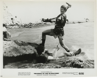 Revenge of the Gladiators (Collection of 19 original photographs from the 1964 film). Michele...