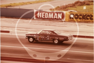Archive of 23 photographs of 1970 National Hotrod Association Winternationals [Hot Rod Winter Nationals]