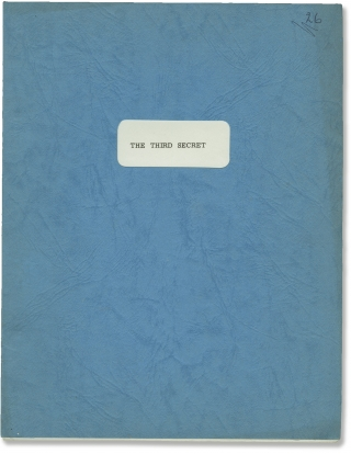 The Third Secret (Original screenplay for the 1964 film). Charles Crichton, Robert L. Joseph,...