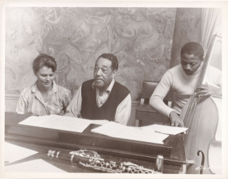 Anatomy of a Murder (Original photograph of Duke Ellington, Lee Remick, and Jimmy Woode on the...