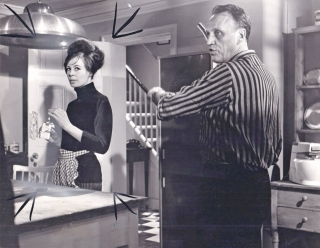 The Servant (Original photograph from the set of the 1963 film). Joseph Losey, Robin Maugham,...
